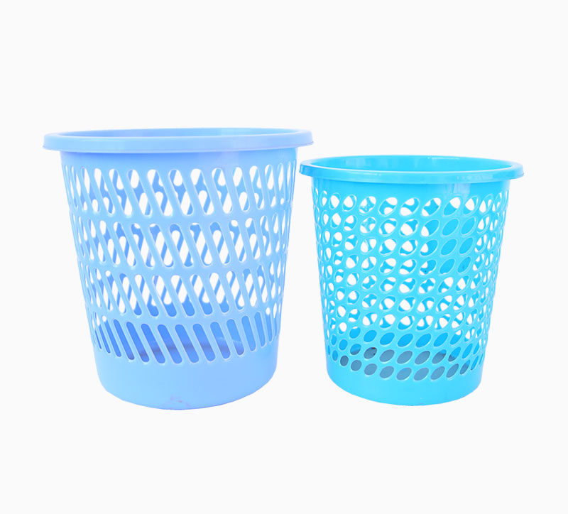 10 Litre Blue Multi Cavity ABS Plastic Trash Can Mould