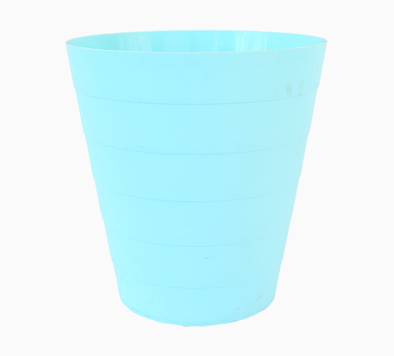Blue 7 Litre Household Appliance PP Trash Can Mould